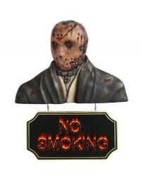 Monster Jason Voorhees Büste mit *No Smoking*Schild