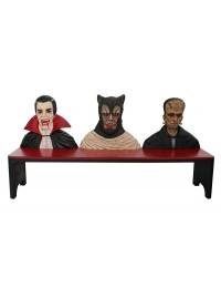 Monsterbank Dracula, Werwolf und Frankenstein