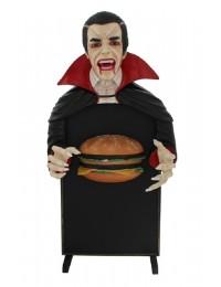 Dracula Angebotstafel klein mit Burger