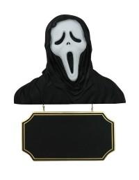 Monster Scream Büste mit Angebotsschild