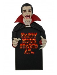 Dracula Happy Hour Angebotstafel
