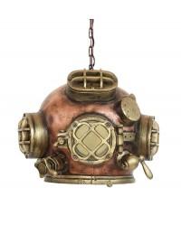 Taucherhelm Lampe