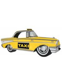 Wanddeko Amerikanisches Taxi Gelb
