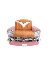 Sitz Chevy Front Rosa mit braunem Polster