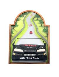 Bild mit Chevy Impala Schwarz