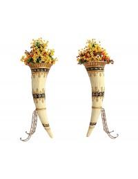 Elefantenhorn Blumentöpfe