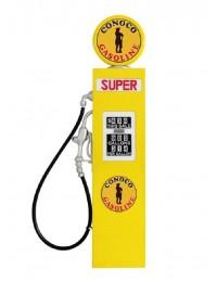 Retro Tankstelle Gelb als Wanddeko groß