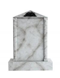 Grabstein mit grauem Marmoreffekt 7