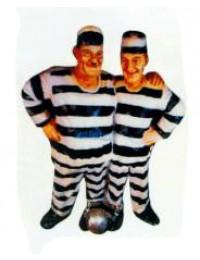 Dick und Doof als Häftlinge zusammen