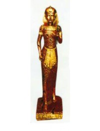 stehende Ägypterin Gold