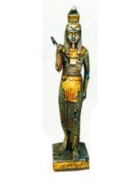 stehende Ägypterin Gold Silber