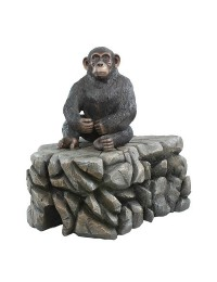 Affe sitzend