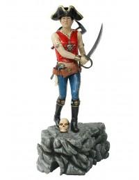 Piratenfrau mit Schwert