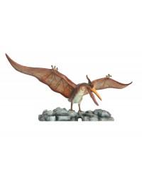 Dinosaurier Pteranodon auf kleinem Stein