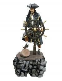 Pirat mit Steuer