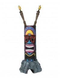 Tiki Maske auf Stein 1