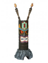 Tiki Maske auf Stein 3