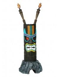Tiki Maske auf Stein 4