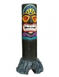 Tiki Maske auf Stein 9