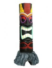 Tiki Maske auf Stein 10