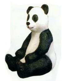 Pandabär sitzend