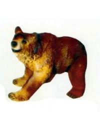 laufender Braunbär klein