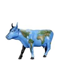 Kuh Weltkarte klein