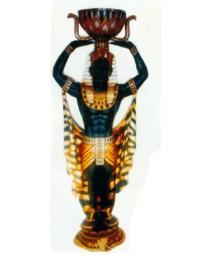 Ägypter mit Pflanzgefäß über dem Kopf Variante 1