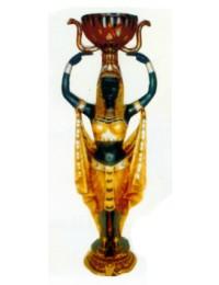 Ägypter mit Pflanzgefäß über dem Kopf Variante 2