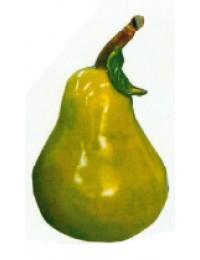 grüne Birne mit Stiel