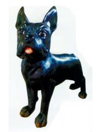 Boston Terrier XXXL schwarz