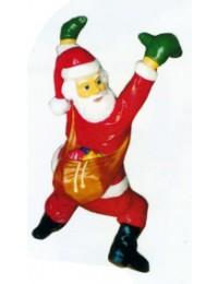 kleiner hängender Weihnachtsmann mit Sack