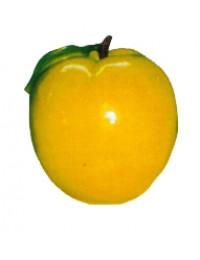 großer gelber Apfel