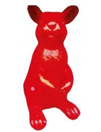 XXXL Osterhase in Rot