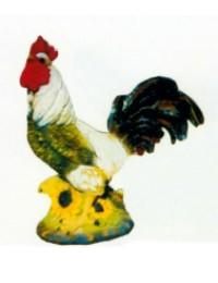 großer Hahn mit Sonnenblumen Variante 1