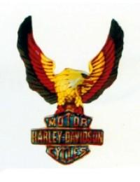 Harley Schild mit Adler