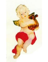 kleiner hängender Engel mit Harfe