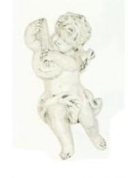 antiker Engel mit Zupfinstrument