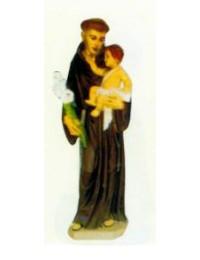 Franz von Assisi mit Kind und Blumen