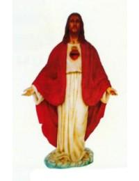 Jesus stehend mit offenen Armen