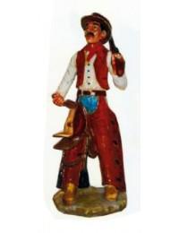 stehender kleiner Cowboy mit Gewehr