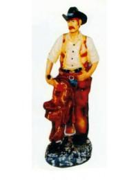 kleiner Cowboy stehend