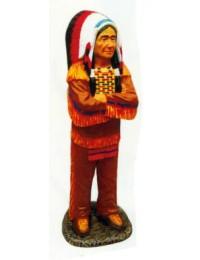 mittelgroßer Indianerhäuptling