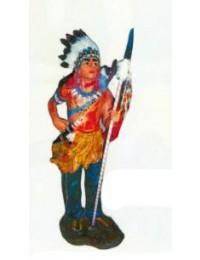 kleiner Indianerhäuptling mit Sperr