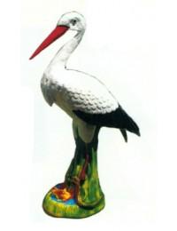 stehender Storch