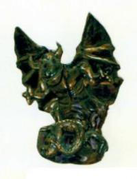 Gargoyle bronzefarbend