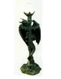 Schwert als Stehlampe mit Drachen
