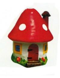 kleines Fliegenpilz als Haus