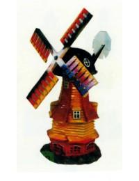 kleine alte Holzwindmühle