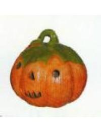 Halloweenkürbis mit Gesicht